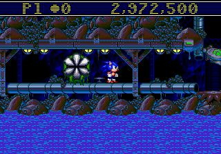 Sonic Spinball - Misc Glitch - Take that, game. I have no life. - User Screenshot